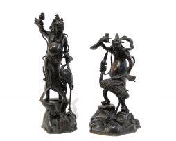Pique-cierges en bronze