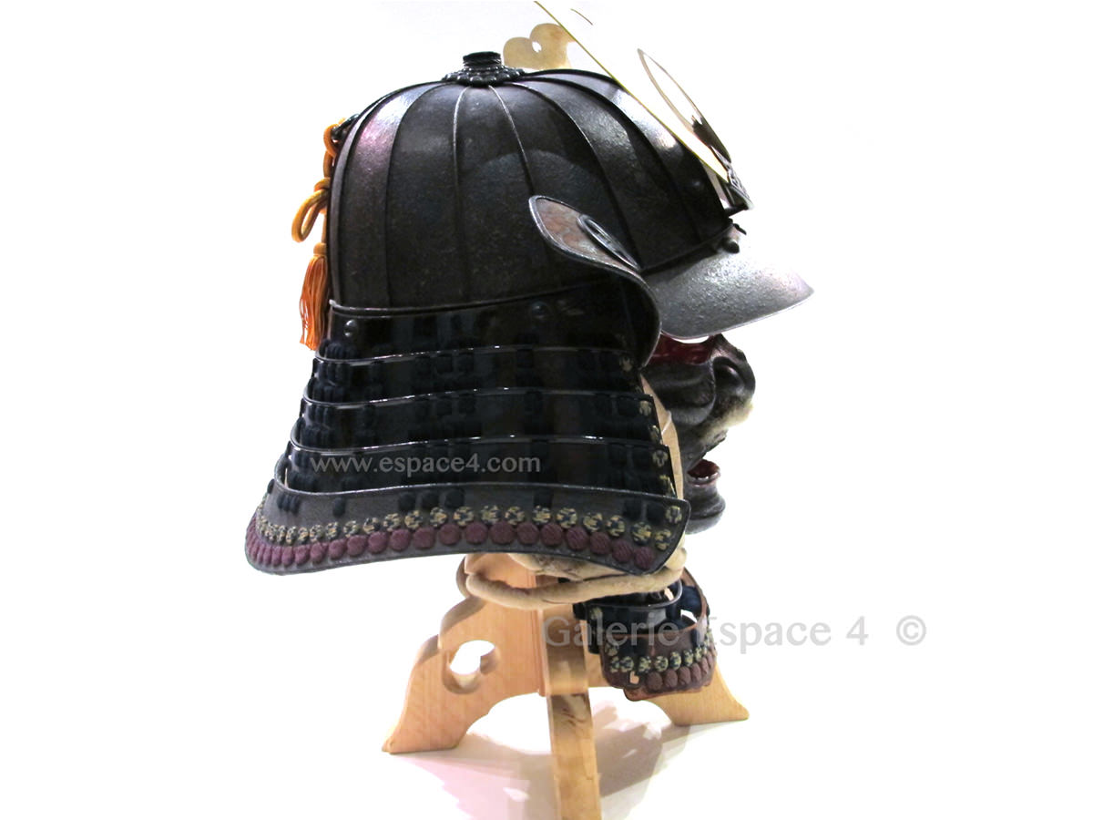Fabuleux Japanese armor – Set of Kabuto and Do | Art from China and Japan  CH71
