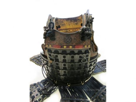 Armure japonaise - Ensemble Kabuto et Dô 4