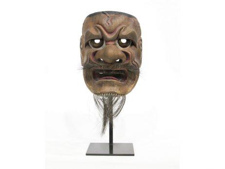 Masque représentant Hanakobu Akujo
