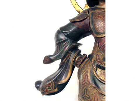 Sculpture de Zochoten en bois polychrome 4