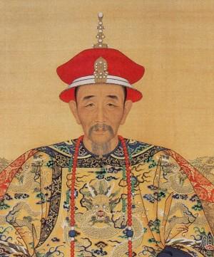 Empereur Kangxi, à l'origine de la tabatière en verre