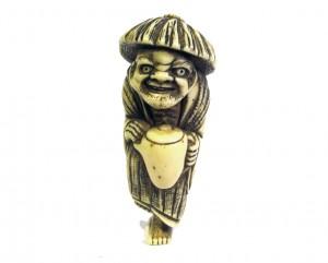 Netsuke-ivoire-japon-japonais-voleur-huile-expert-art-edo-antiquites