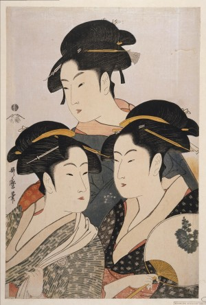 technique-estampe-Utamaro