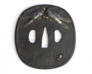 tsuba araignée
