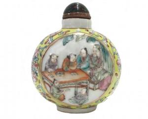 tabtière porcelaine émaillée