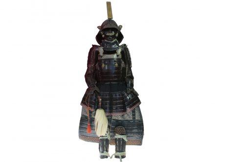 Armure de type yokohagi okegawa gomaido tosei gusoku. Laçage en sugake odoshi. Do comportant des parties en same (peau de requin, équivalent japonais du galuchat).